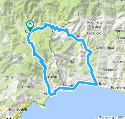 AlpesMaritimes15/2.Etappe: Sospel - Vescavo - Royatal - Ventimiglia - Menton - Castillon - Sospel