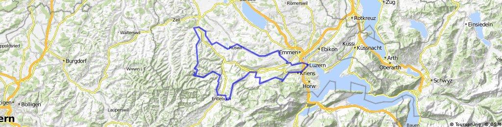 RR Luzern Schwarzenb Entlebuch Menzb Willisau LU