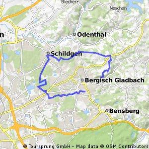 Radwege und Routen in und um Bergisch Gladbach Bikemap Deine