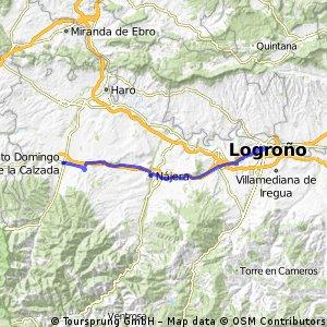 20 Tag Logrono - Santo Domingo de la Calzada