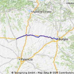 22 Tag Burgos - Carrion de los Conders