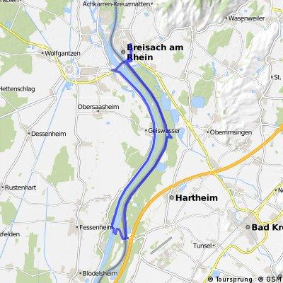 Breisach-Fessenheim-Breisach