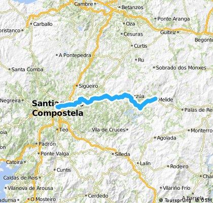 28 Tag Melide - Santiago de Compostela