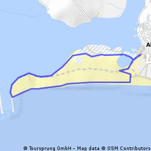 Cycling Routes And Bike Maps In And Around Alvor Bikemap Your - Portugal map alvor