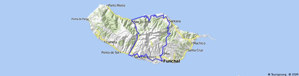 Funchal santana sao vicente ribeira brava