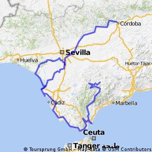 Ruta BTT Andalusia