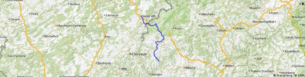 Verbindung Vennradweg- Enz