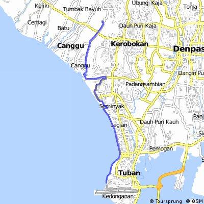 Canggu - Kuta Lines