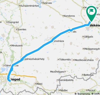 Békés - Szeged - Békés (2 nap)