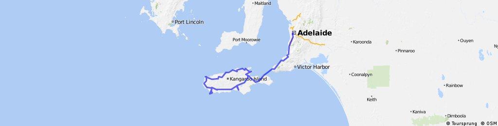Kangaroo Island Cycling