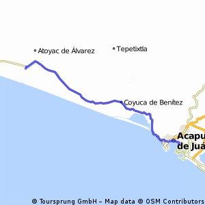 J49 – Dimanche 28 février 2016 – Acapulco – San Jeronimo De Juarez