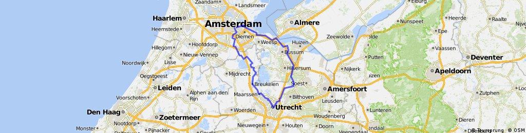 Amsterdam-Naarden-Vuursche-Utrecht