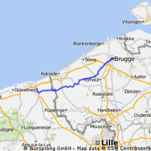 Calais to Oslo Day 2