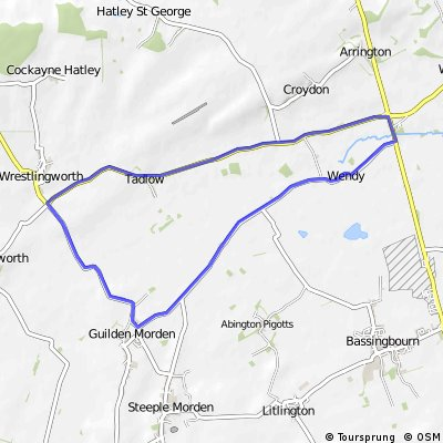 CC Ashwell 25 mile TT lap [code F14/12]