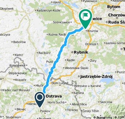 Ostrava (CZ) - Gliwice (PL)