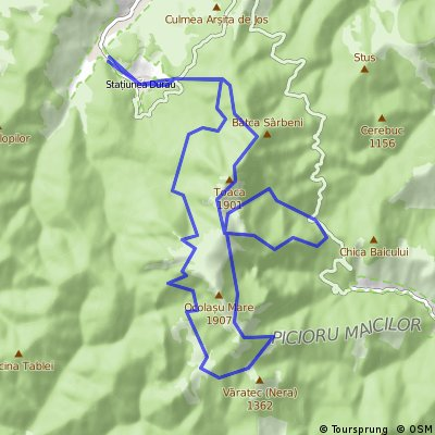 Proba Maraton Bate Toaca 2016