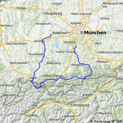Isar, Walchensee, Plansee