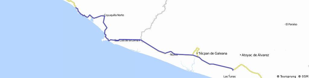 J50 – Lundi 29 février 2016 – San Jeronimo De Juarez – Playa La Barrita