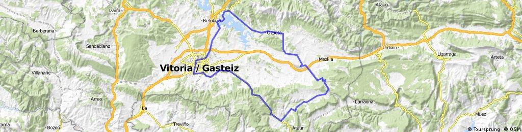 Vitoria-Pto Azazeta-Maeztu-Iturrieta-SALVATIERRA-Ozaeta-Landa-Vitoria