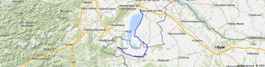 Neusiedl-Illmitz-Sopron
