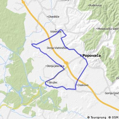 ruta 5 srednjovjekovnih župa Jugozapadne Moslavine(moslavačka gora)