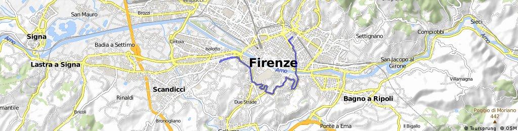 bike tour through Florence