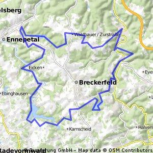 Rund um Breckerfeld #MTB
