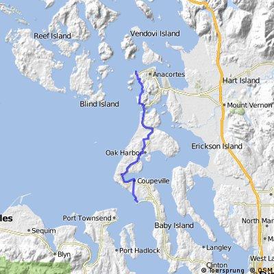Deception Island route