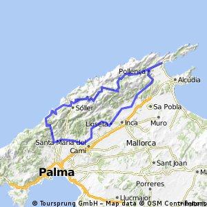 Porto de Pollenca - Valldemossa
