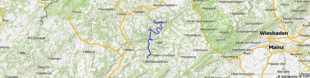 Moselradweg Trier - Koblenz, 3. Tag