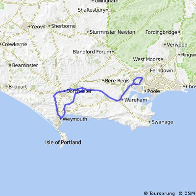 Broadstone to Weymouth & Dorchester