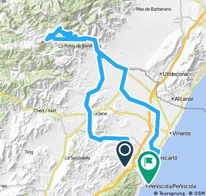 140 km Fedes auf 1200 m