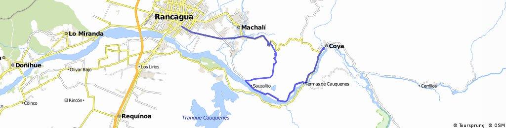 Rancagua - Coya por senderos