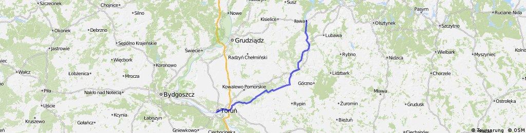 Iława - Toruń