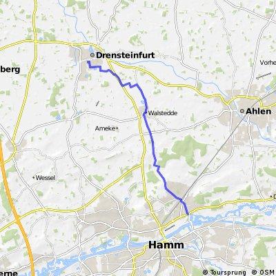 Hamm - Waldstedde - Drensteinfurt