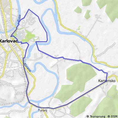 Karlovac - Kamensko - Turanj