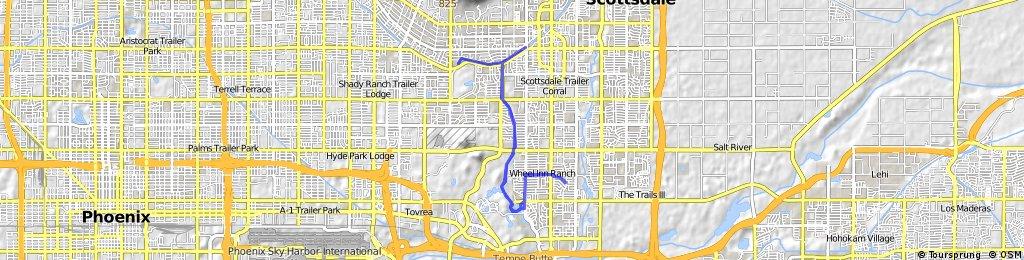 bike tour through Scottsdale