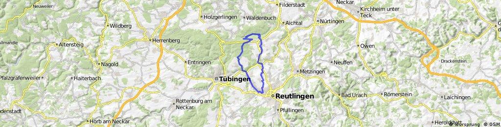 Rundfahrt Reutlingen - Schönbuch - Schaichtal