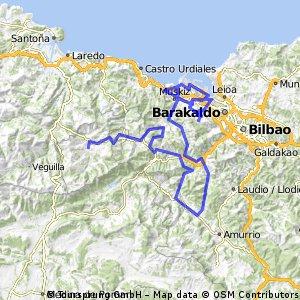 Karrantza- La Lejana (Arboleda) EH Itzulia 4.Etapa
