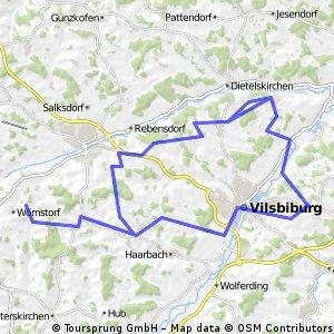 Testtour über VIB