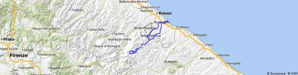 Riccione - Tour des Steinpilzes