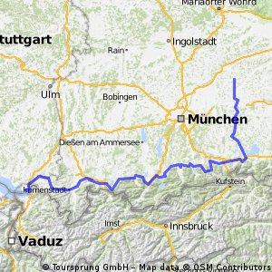 Radtour NK4 - Bodensee
