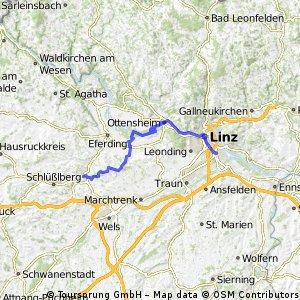 Linz  Ottensheim Forst Bad Schallerbach