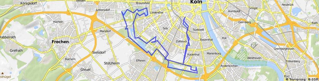 Die Grüne Lunge Köln - MTB Stadtwaldtour