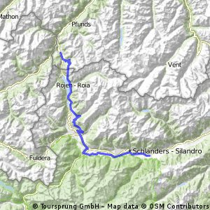 3 Tag Nauders - Plamort -Maletteshöhe - Latsch