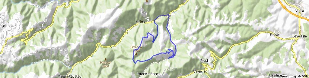 Corabia - Mt. Rece - Mt. Batrana - Corabia