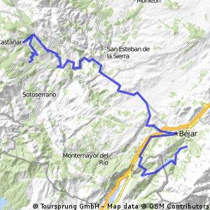 1 1 CANDELARIO - MOGARRAZ  65 Km
