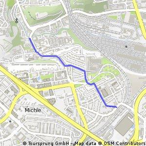 A223: Michle, Na Líše – Michle, Michelská