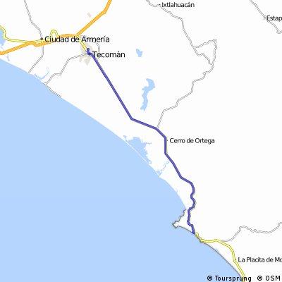 J57 – Lundi 07 mars 2016 – San Juan De Alima – Tecoman
