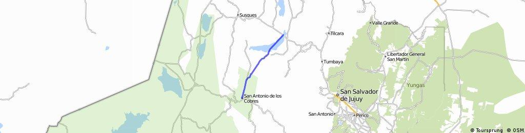 R: San Antonio de los Cobres - Salinas Grandes del Noroeste